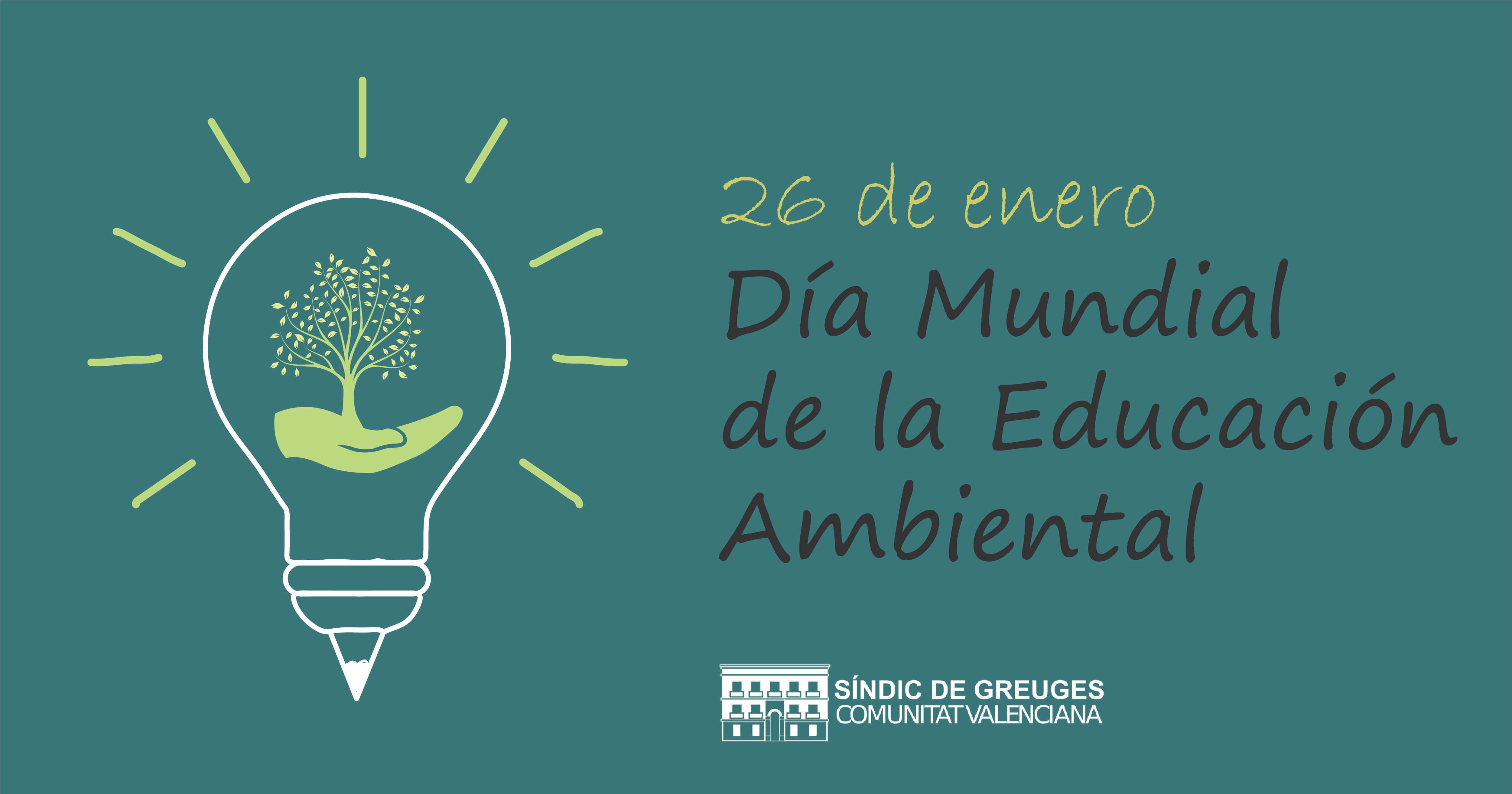 26 de enero. Día mundial de la educación ambiental