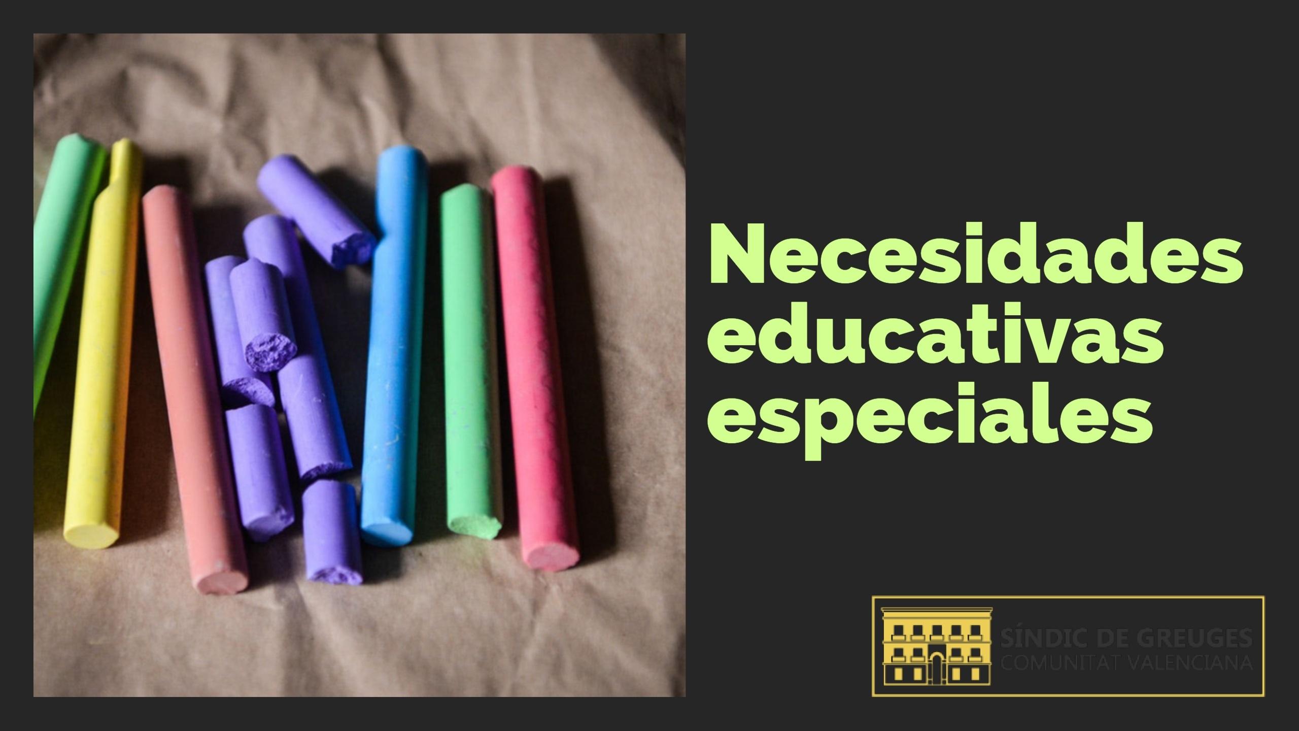 Resolución del Síndic sobre sustituciones no docentes en centros que atienden a menores con necesidades educativas especiales