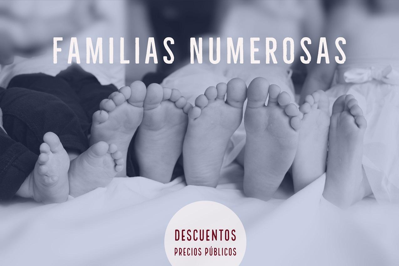 Pedimos al Ayuntamiento de Valencia que bonifique las tasas para familias numerosas