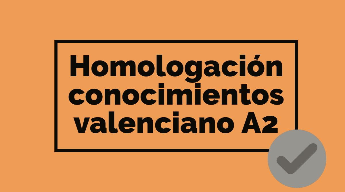 Planteamos la homologación del A2 de valenciano para alumnos de la Escuela de Adultos que aprobaron sus estudios antes del 2017