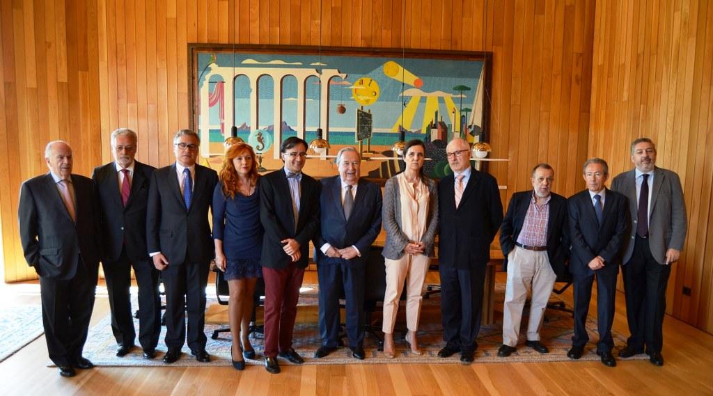Reunión de defensores en Santiago