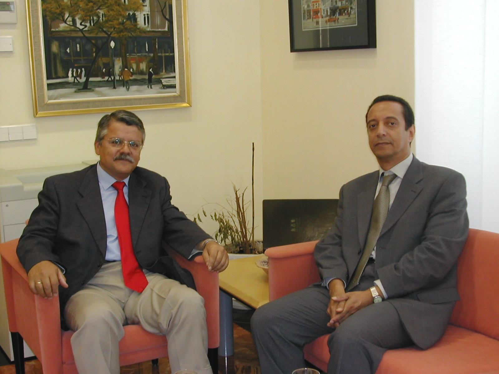 El cónsul de Argelia en Alicante visita al síndic
