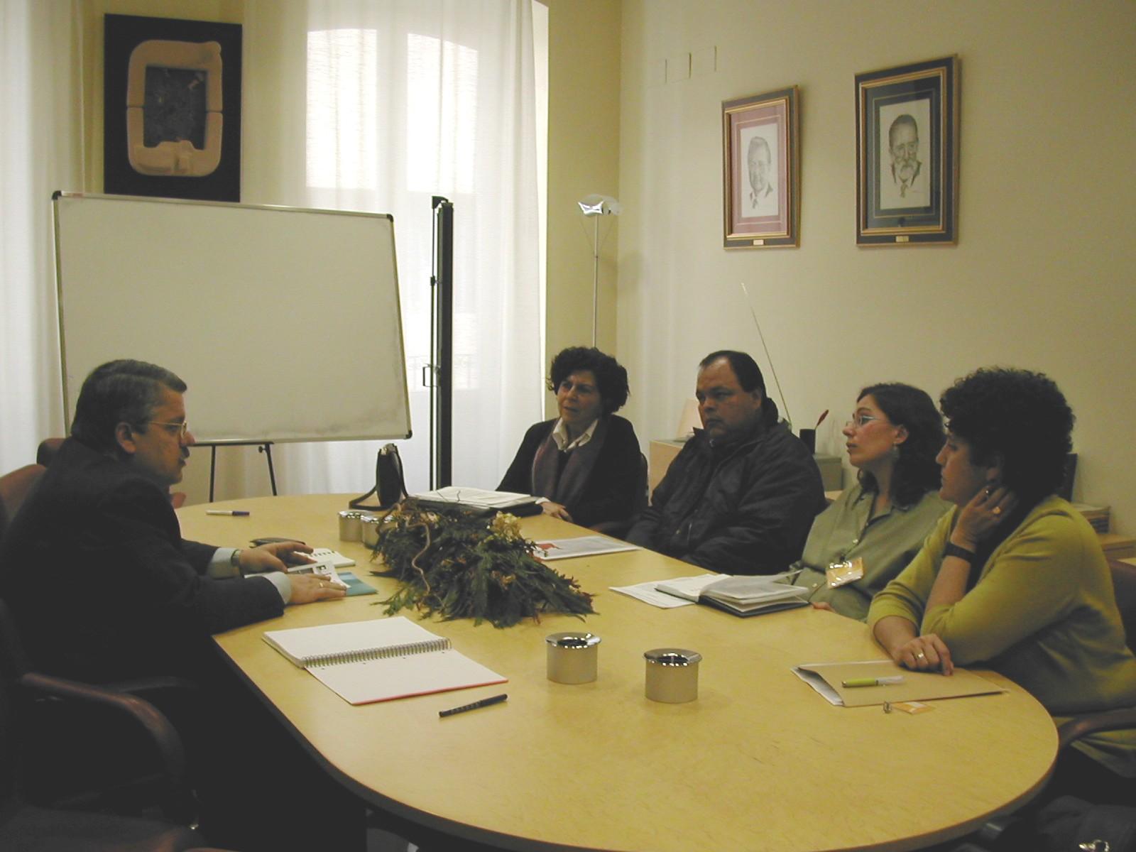 Visita de Brigadas Internacionales de Paz