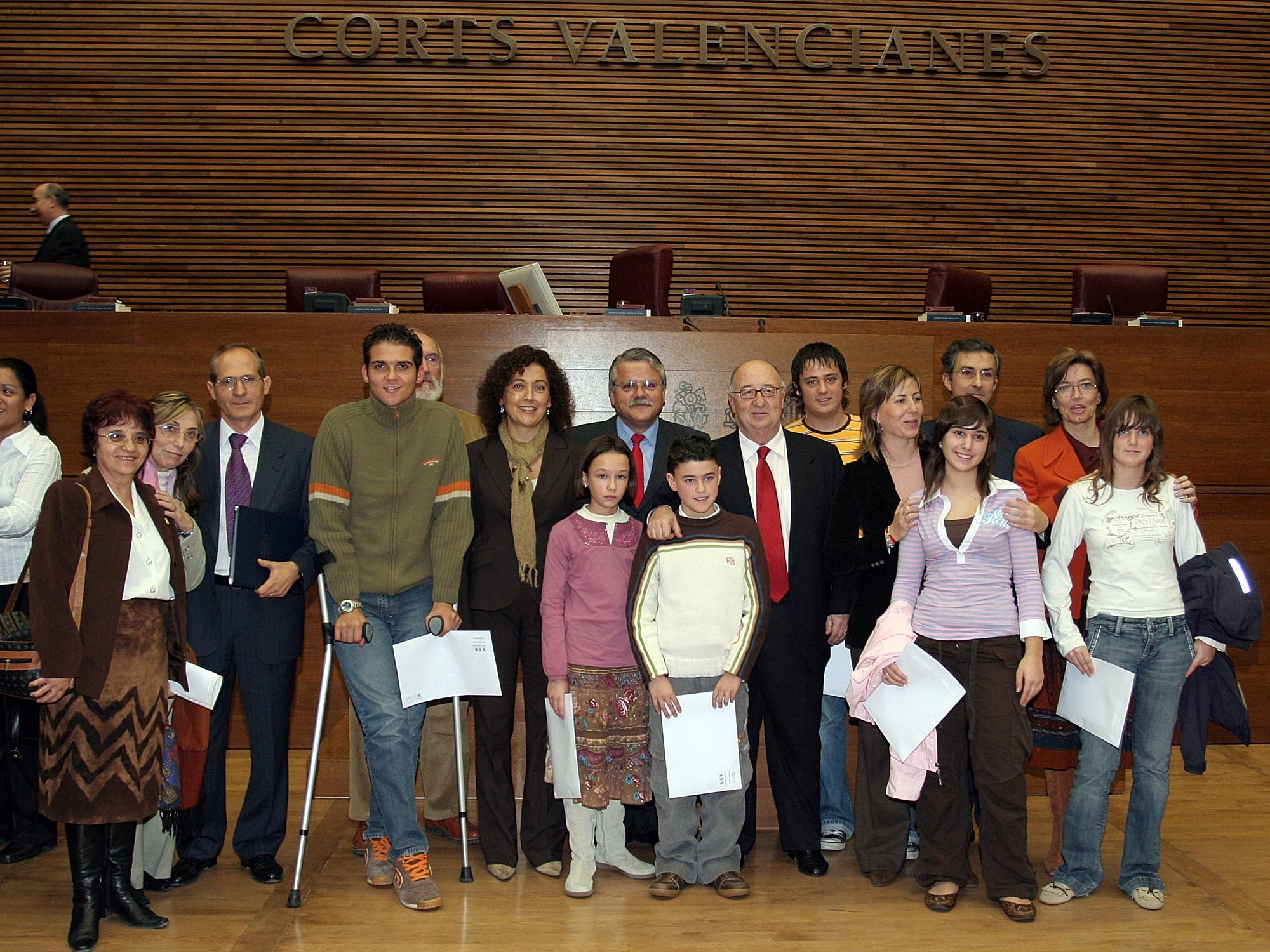 Del Rosal entrega los premios Síndic de Greuges 2005