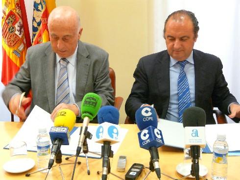 El Síndic firma dos convenios de colaboración con la Diputación de Alicante
