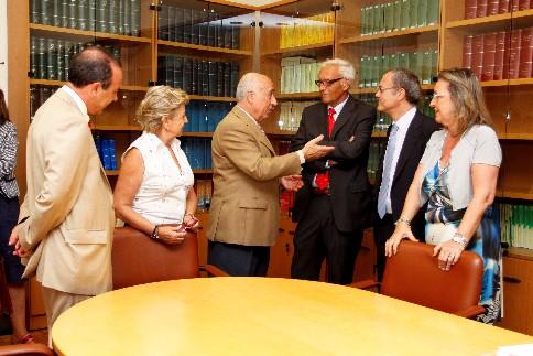 El Síndic recibe al Síndic de Comptes de la Comunitat Valenciana