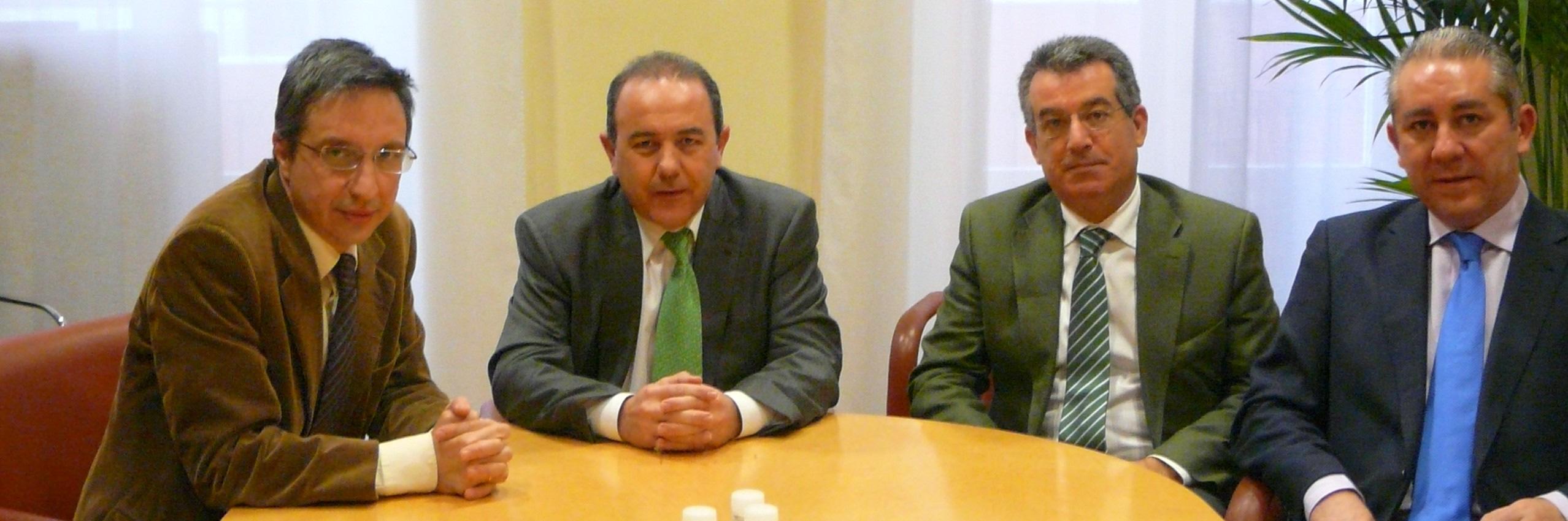Carlos Morenilla se reúne con la CONCAPA