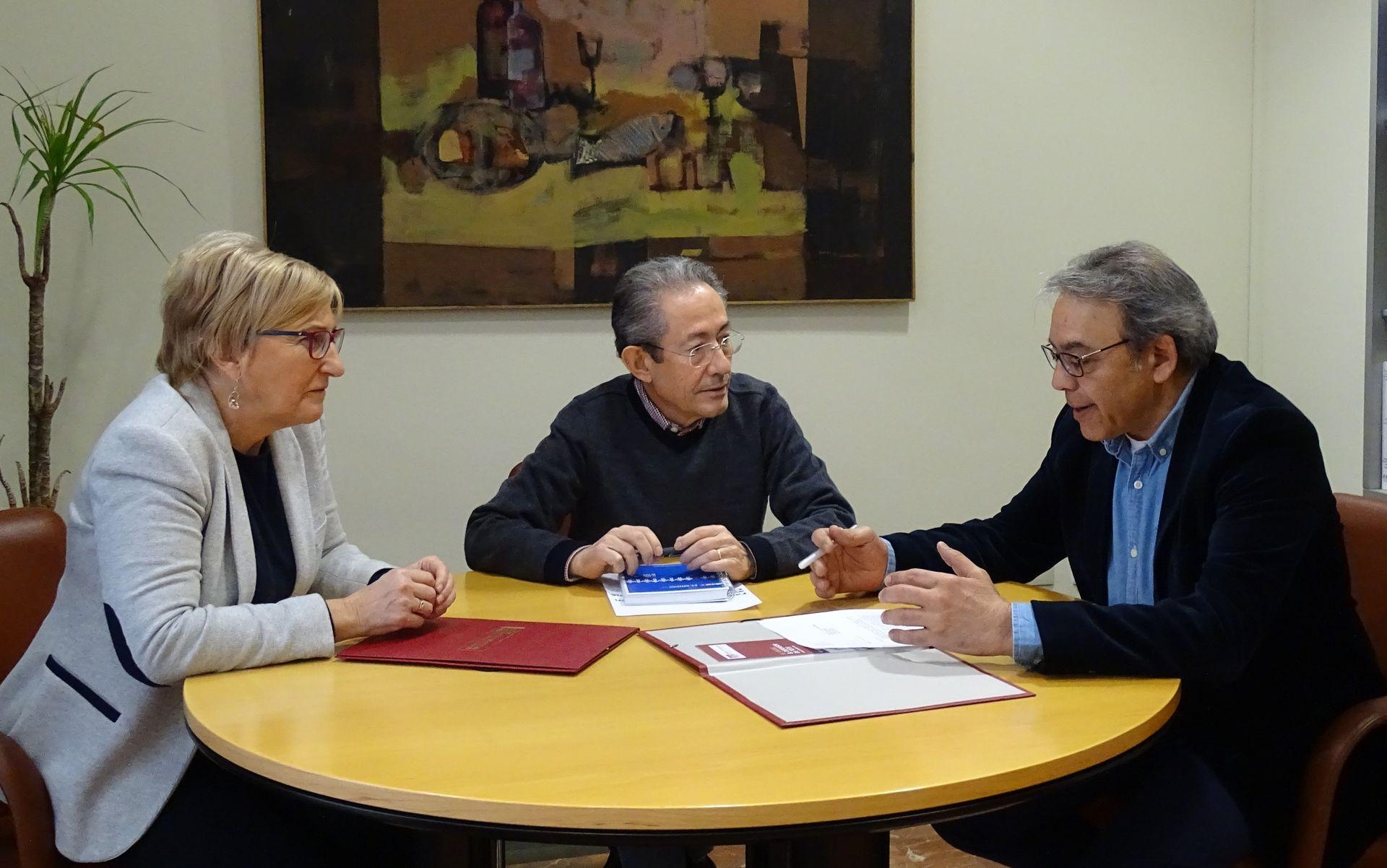 El síndic y la portavoz adjunta del Grupo Parlamentario Socialista de les Corts Valencianes visitan el Síndic de Greuges
