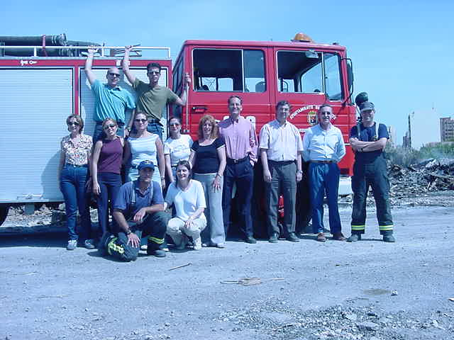 El personal del Síndic realiza el «Curso Básico de Protección contra el Fuego»