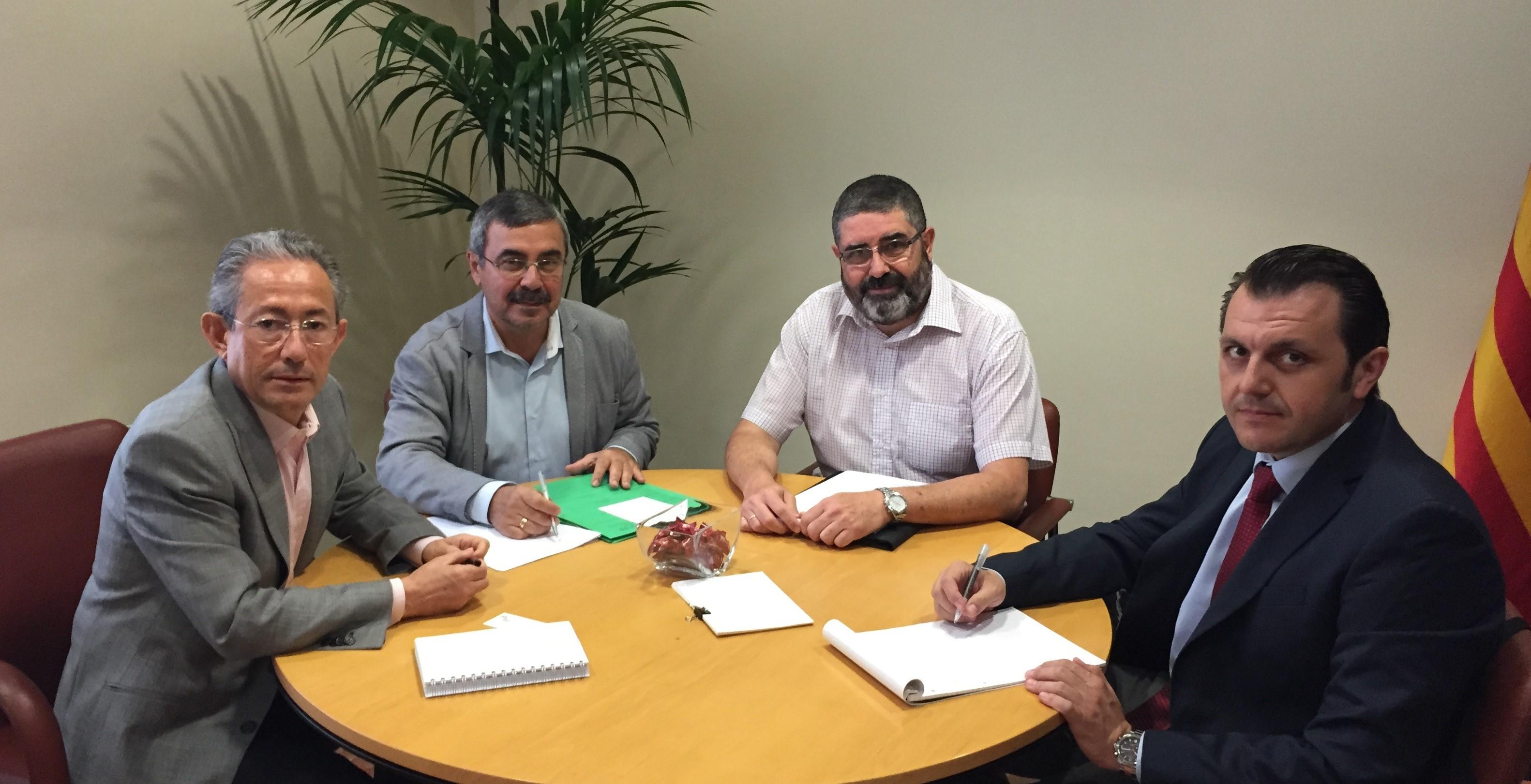 Reunión de trabajo con el nuevo director general de AERTE