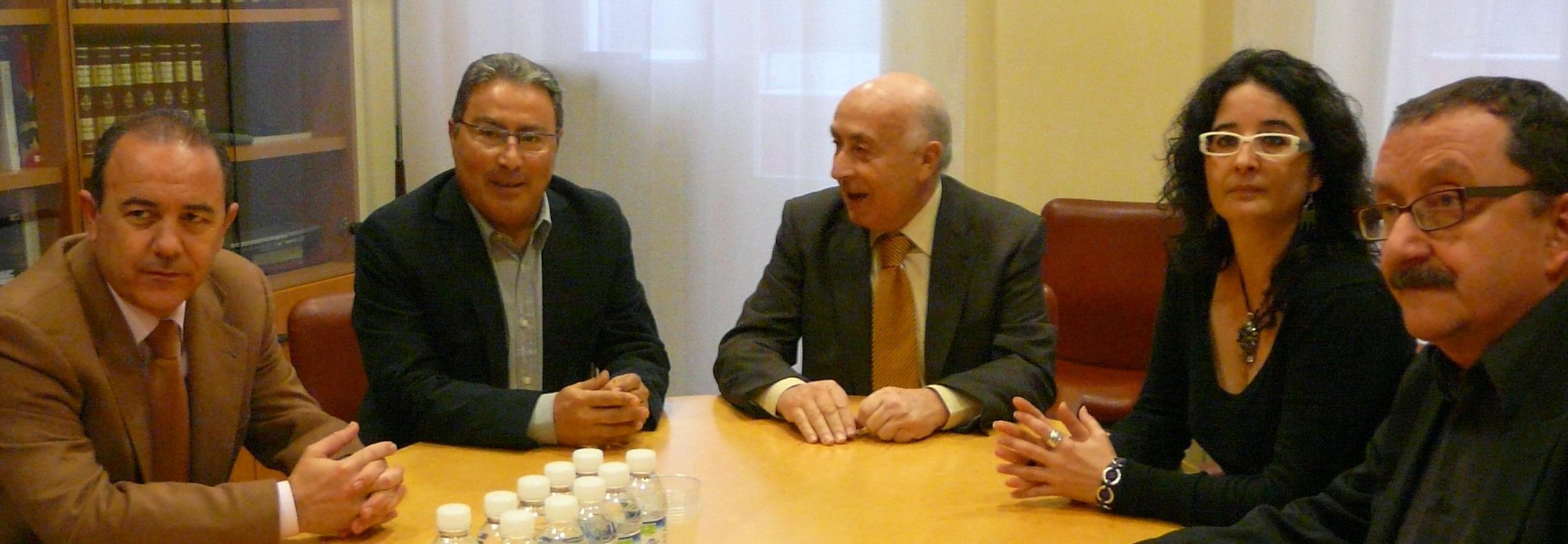 El Síndic se reúne con la cúpula de CCOO-PV