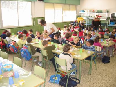 Sugerimos el servicio de comedor escolar gratuito para residentes en zonas rurales