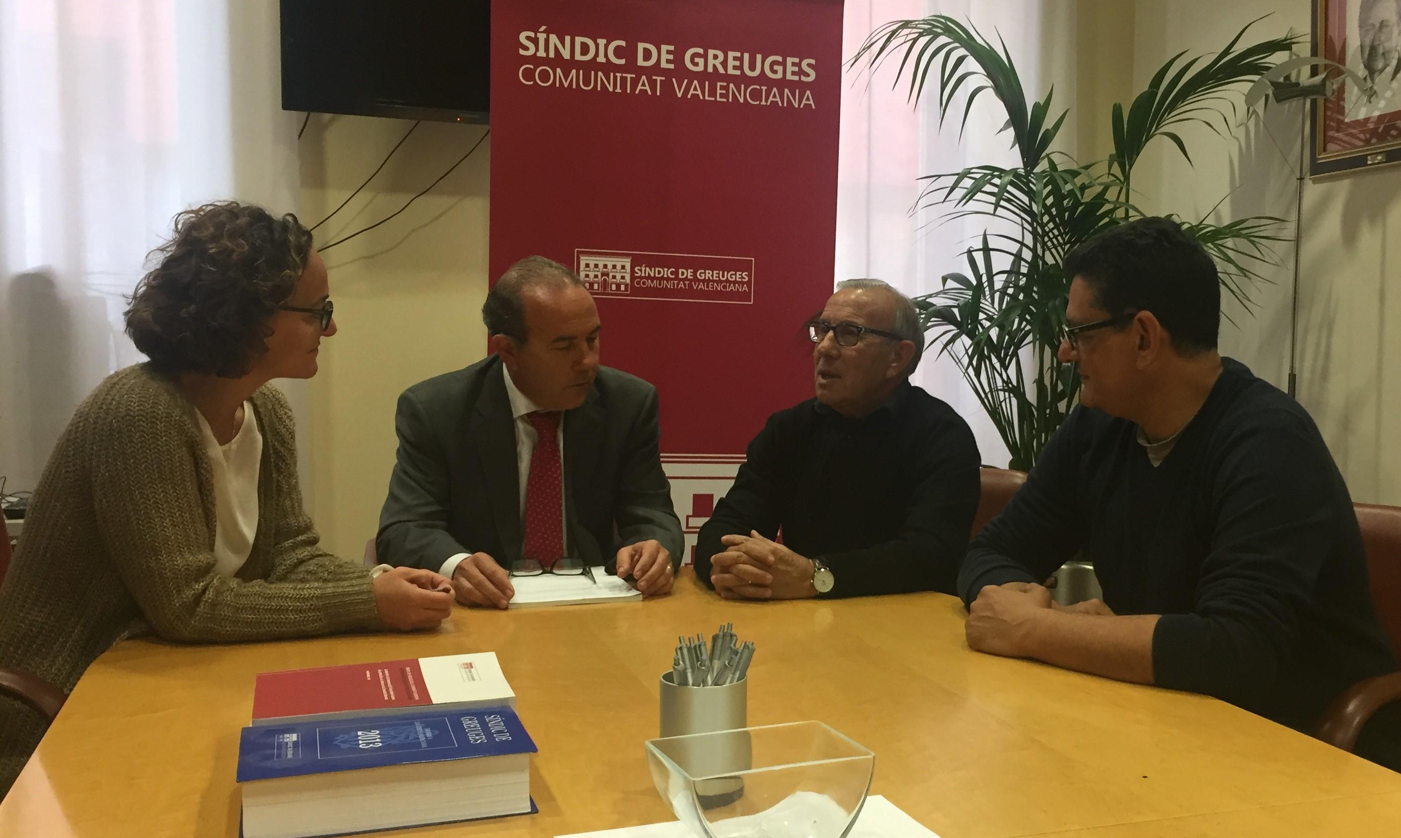 Reunió amb la Federació Autonòmica d'Associacions Gitanes de la Comunitat Valenciana
