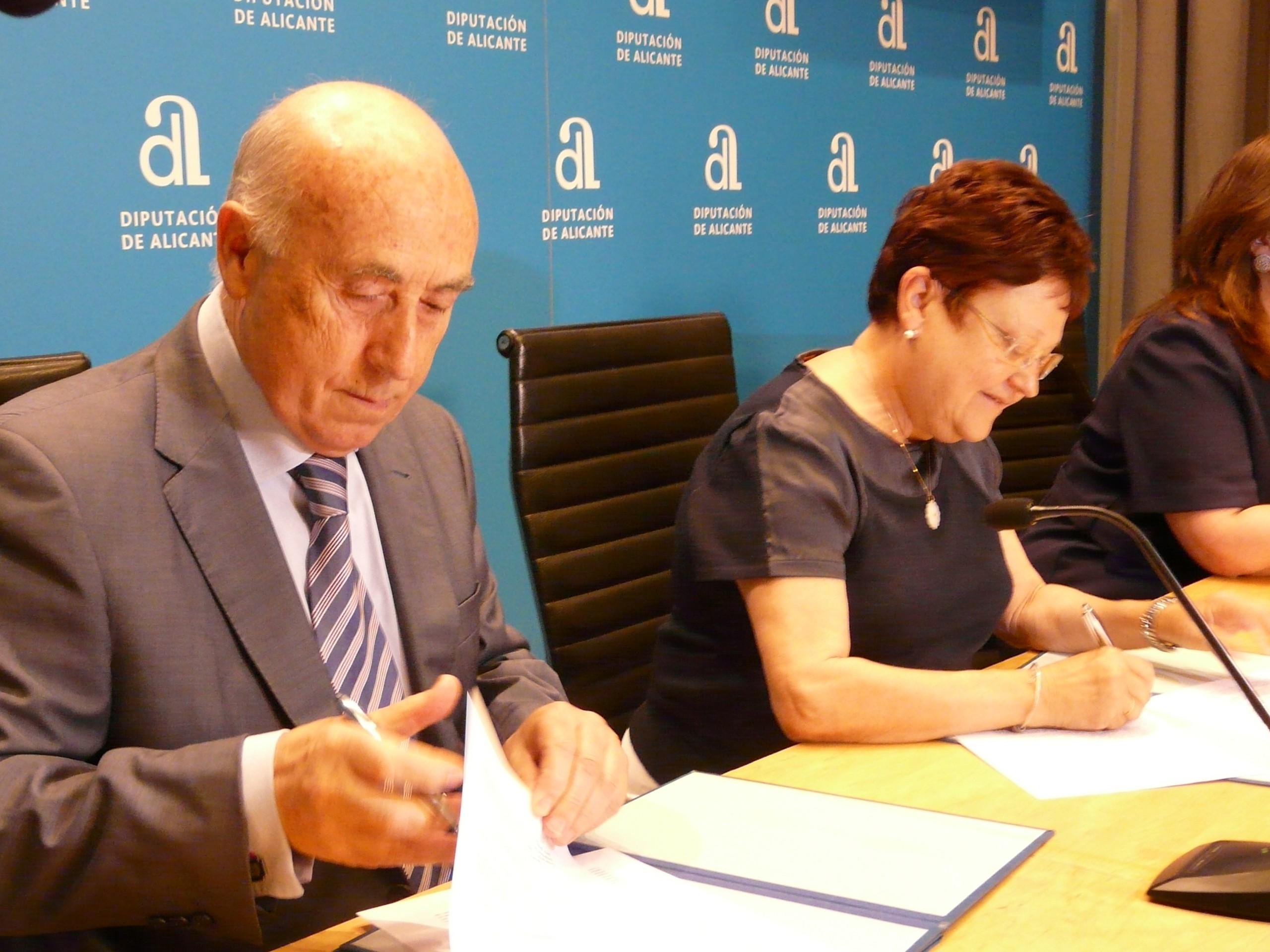 Convenio con la Diputación de Alicante