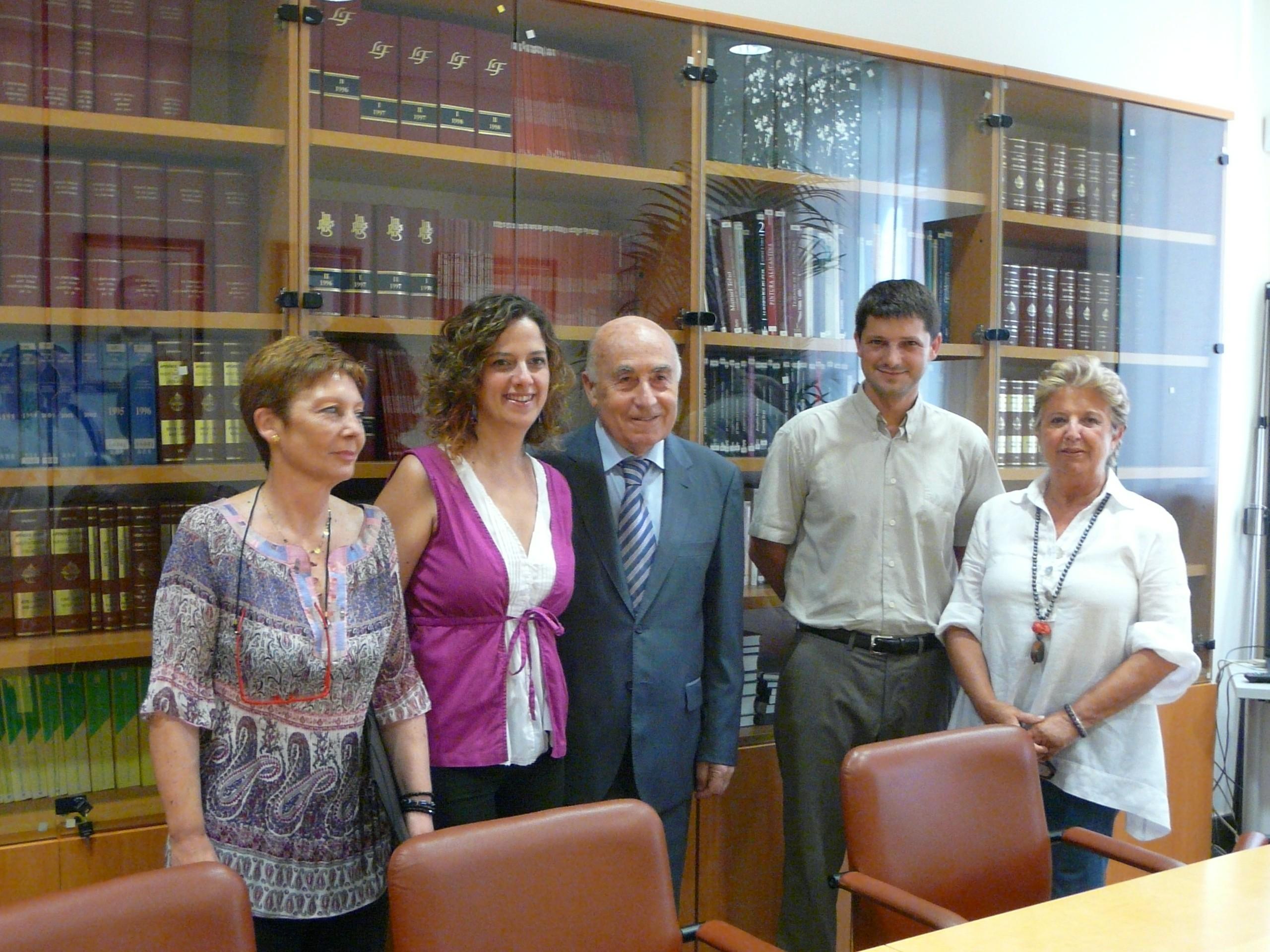Reunión con representantes del PSOE de Alicante
