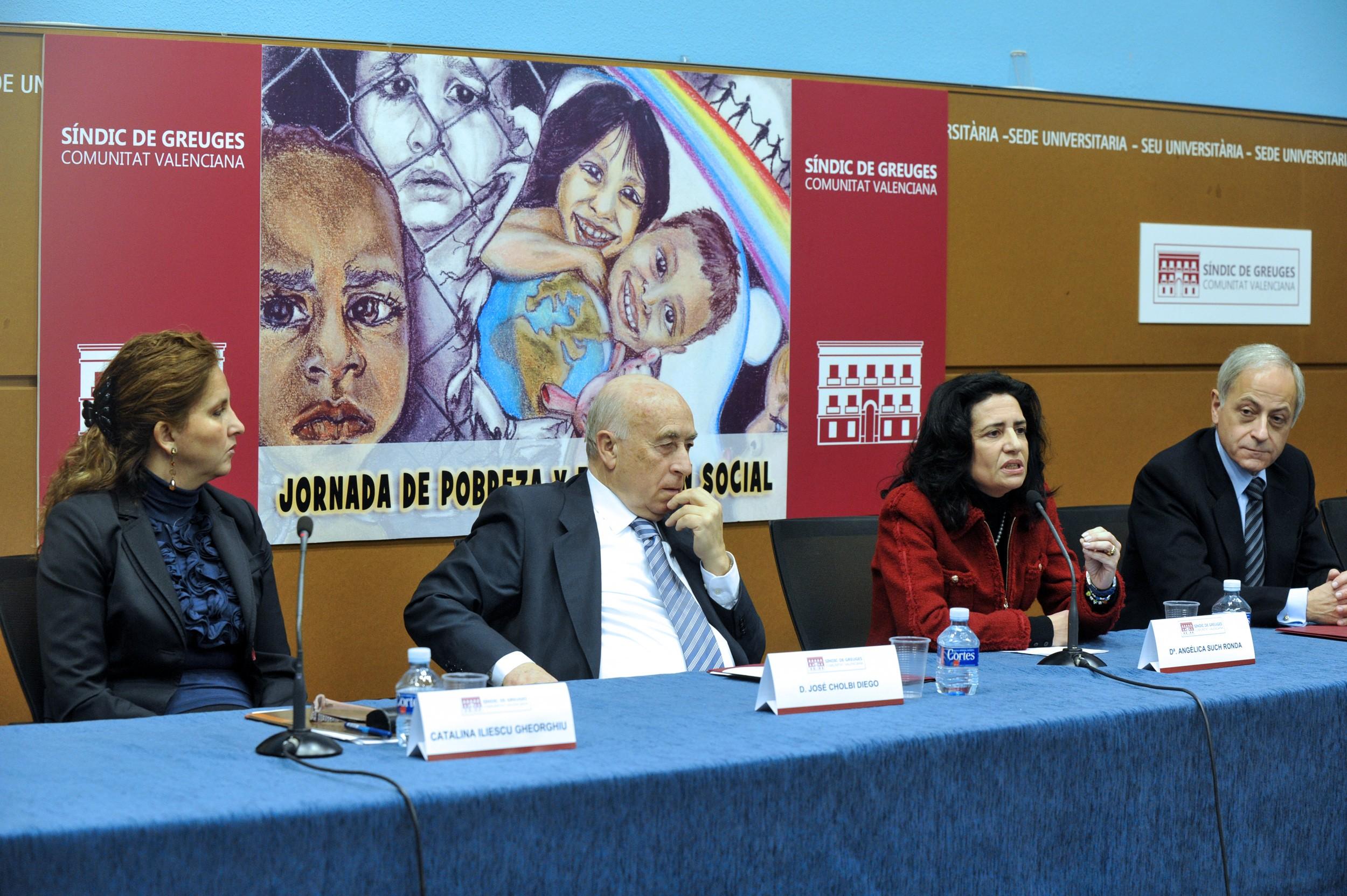 Gran acogida de la Jornada de Pobreza y Exclusión Social organizada por el Síndic de Greuges