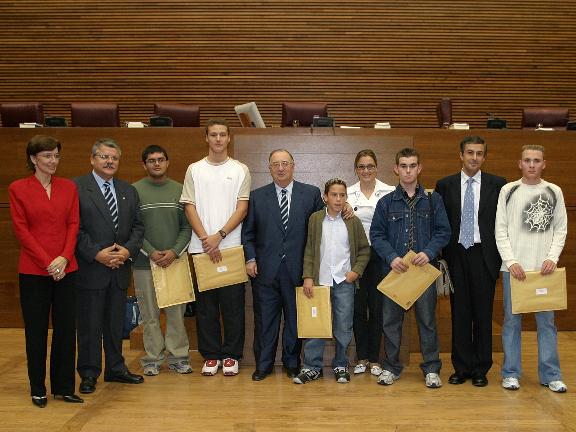 El Síndic entrega los Premios Síndic de Greuges 2004