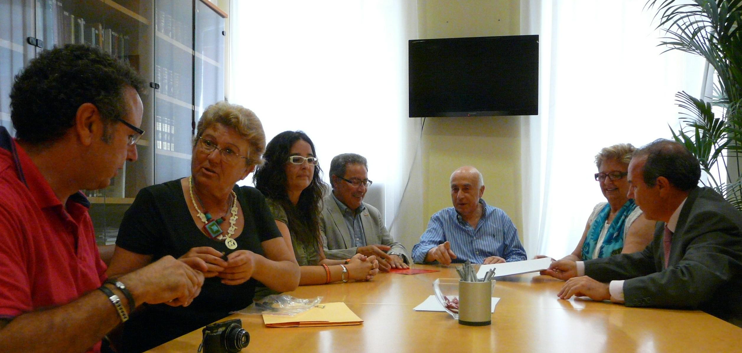 Reunió amb representants deCCOO PV