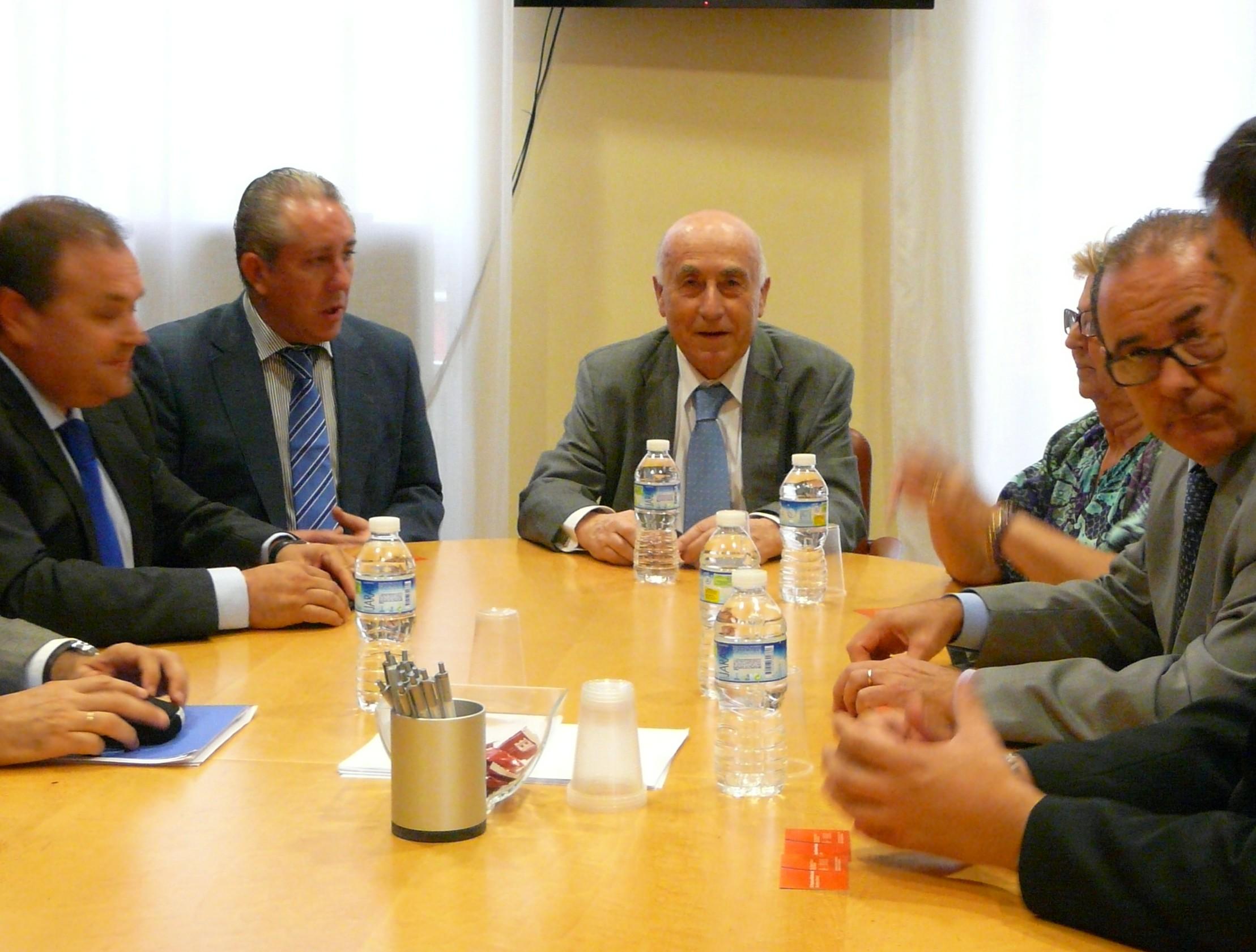 Reunión con los representantes de Cepyme Alicante