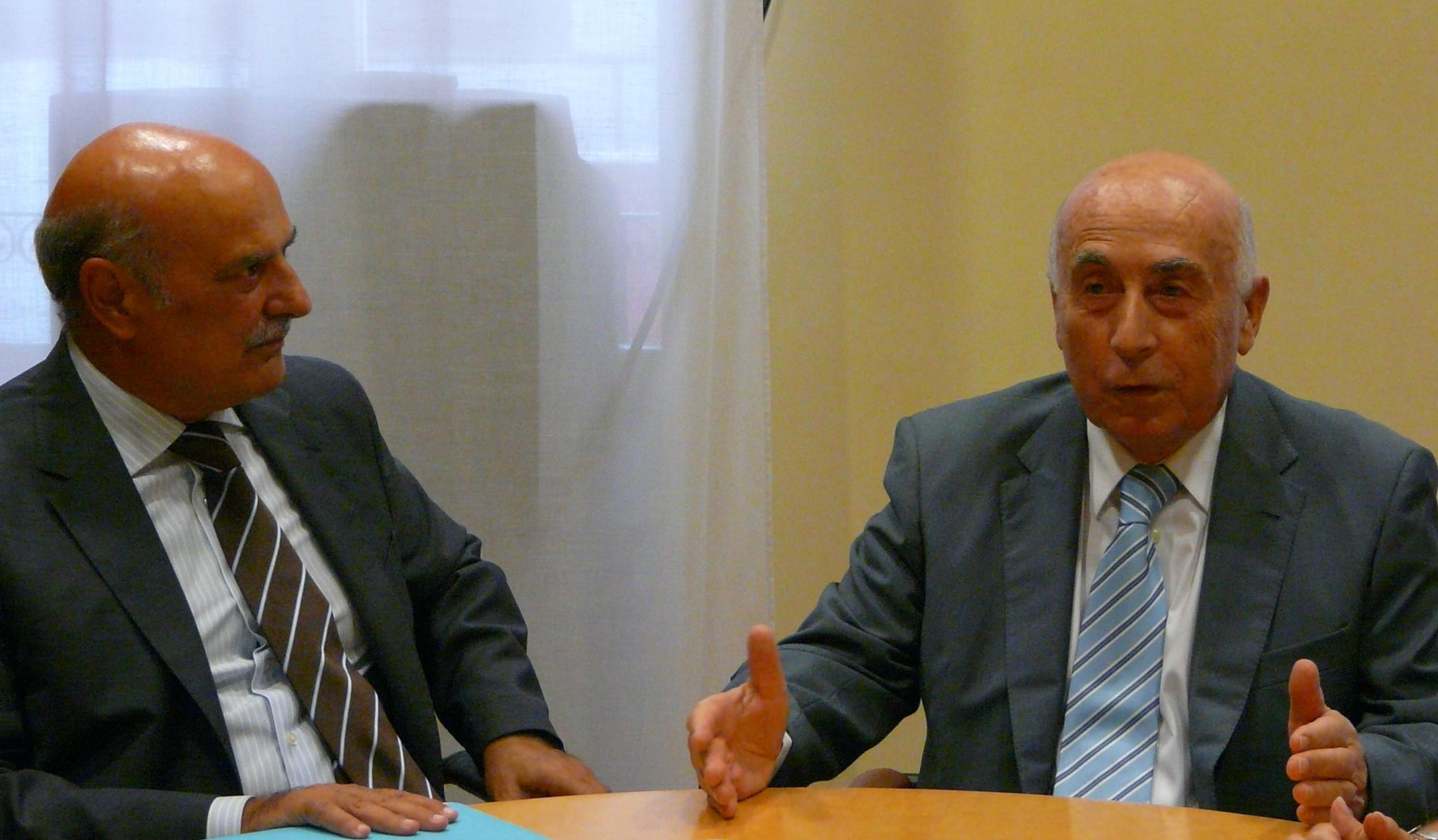 El síndic se reúne con el decano del Colegio de Abogados de Alicante