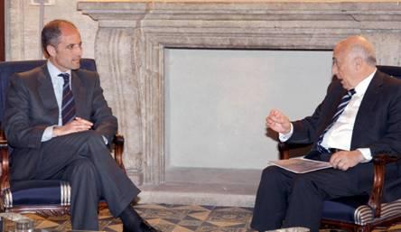 El Síndic visita al Presidente de la Generalitat