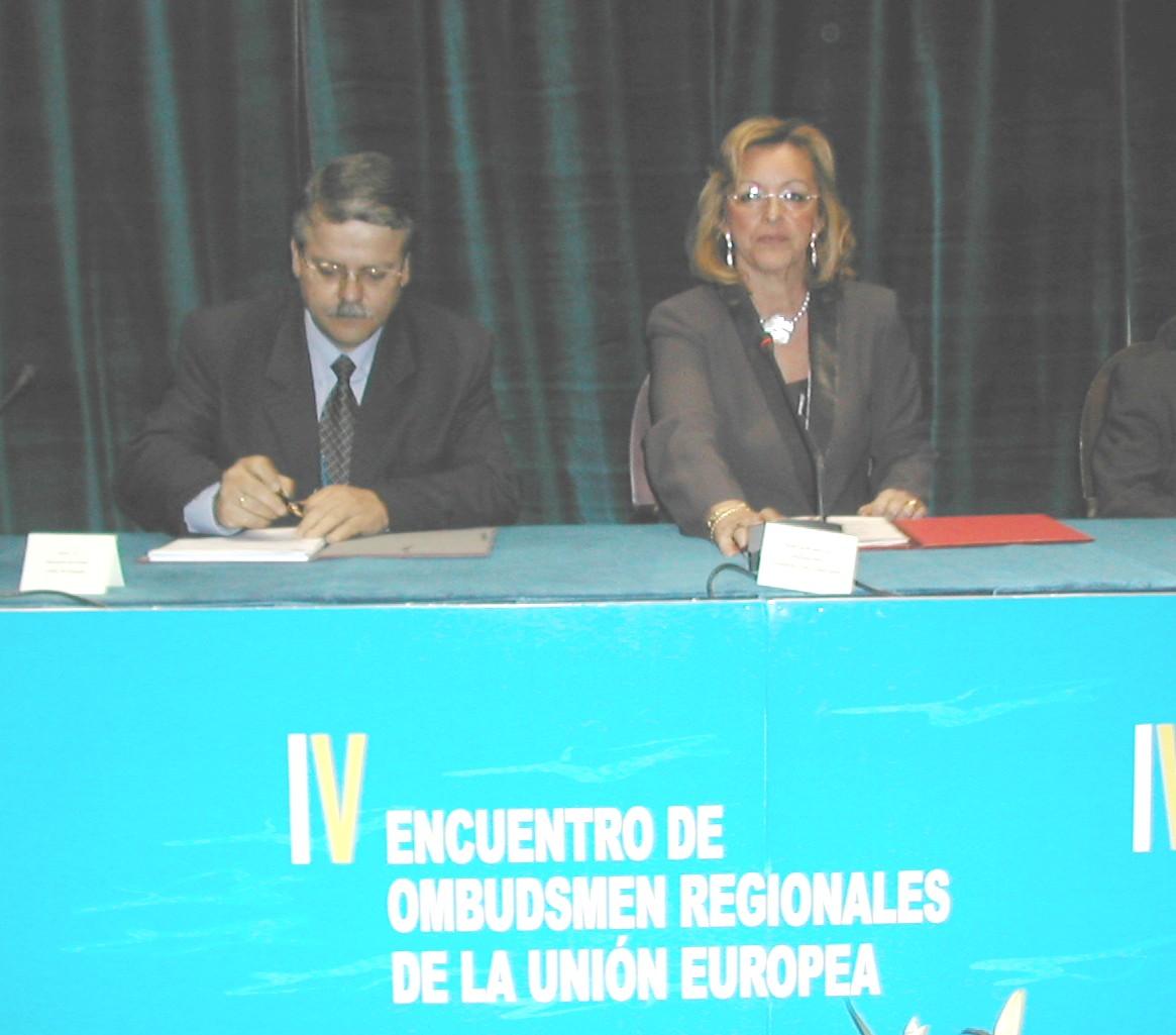 IV Encuentro de Ombudsmen Regionales de la Unión Europea