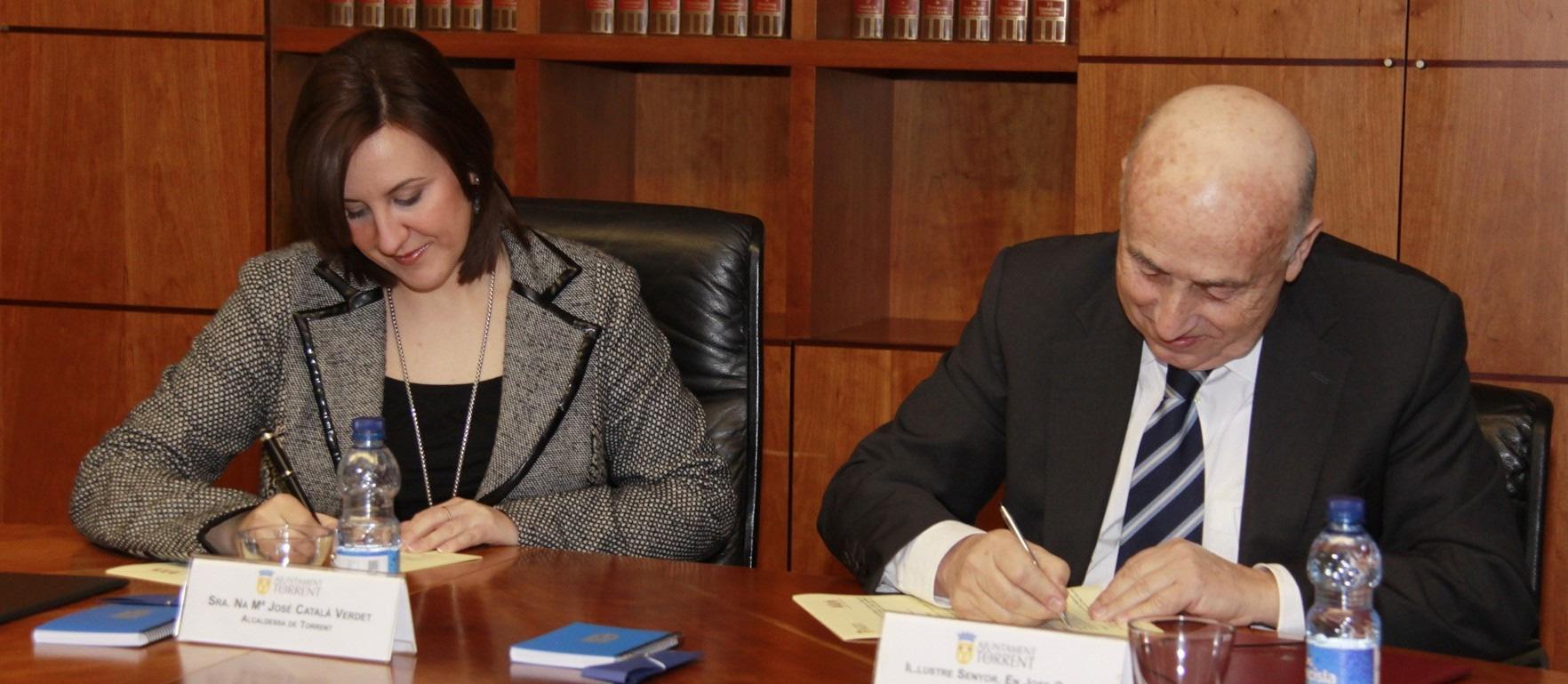 El Síndic firma un Convenio de Colaboración con Torrent