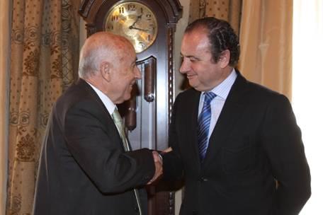 El Síndic visita al presidente de la Diputación de Alicante