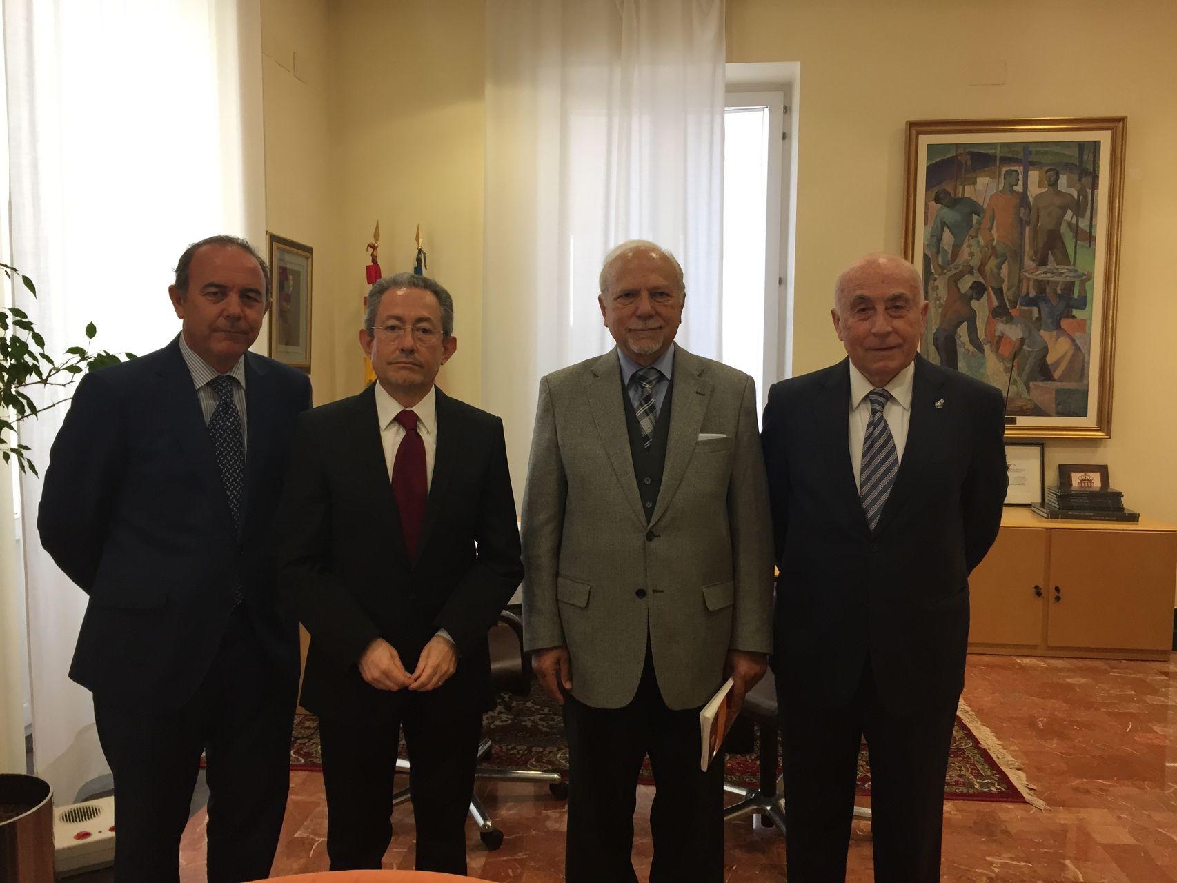 Reunión con el presidente del Instituto Latinoamericano del Ombudsman