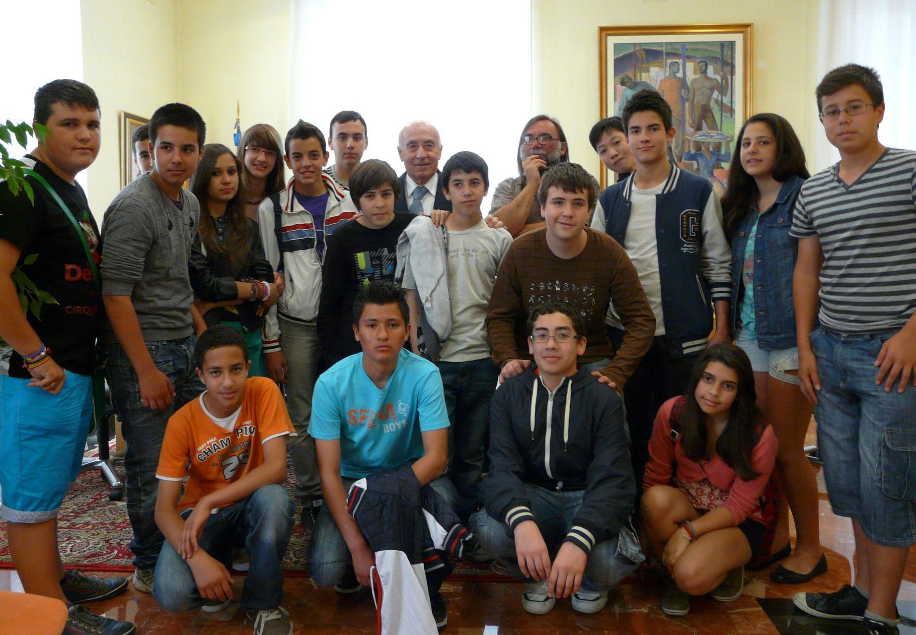 Visita del IES Miguel Hernández de Alicante