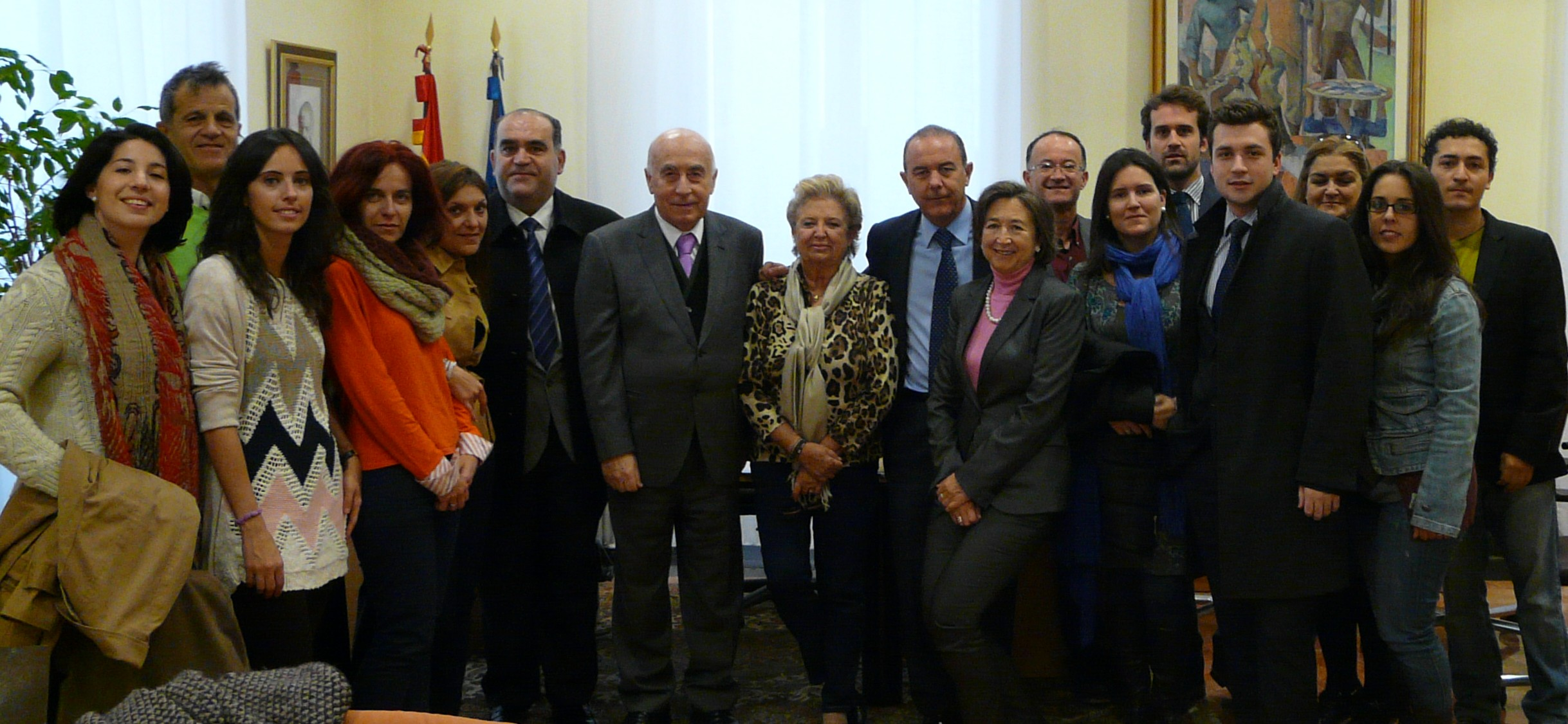 El Síndic de Greuges recibe a los alumnos del Máster de la Abogacía del Colegio de Abogados de Alicante