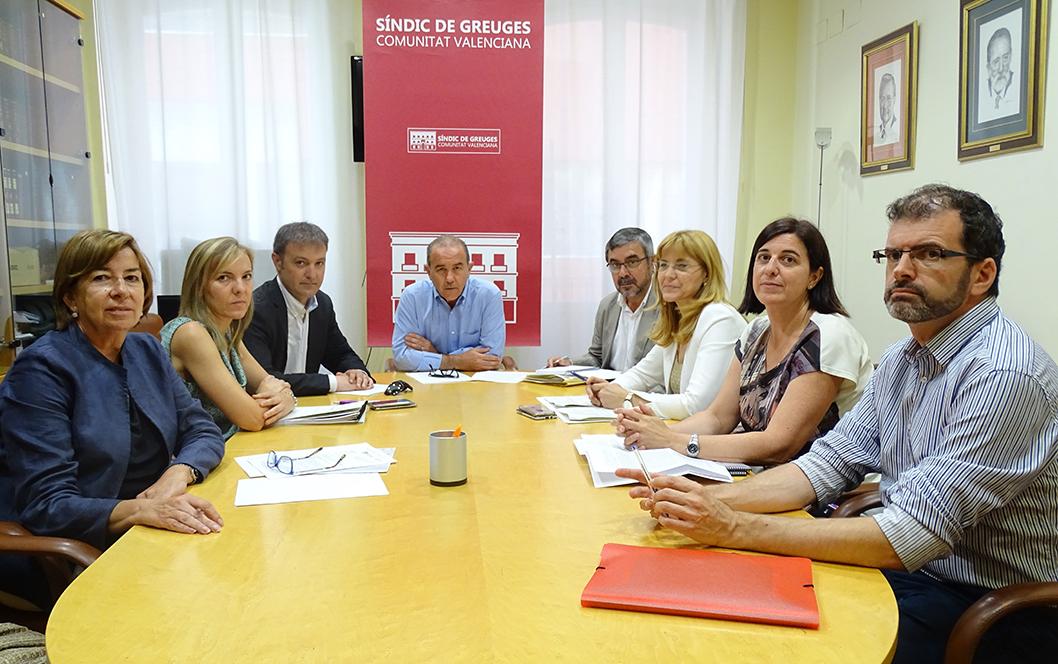 El Síndic media para dar continuidad a un proyecto de intervención educativa y sociocultural en la Zona Norte de Alicante