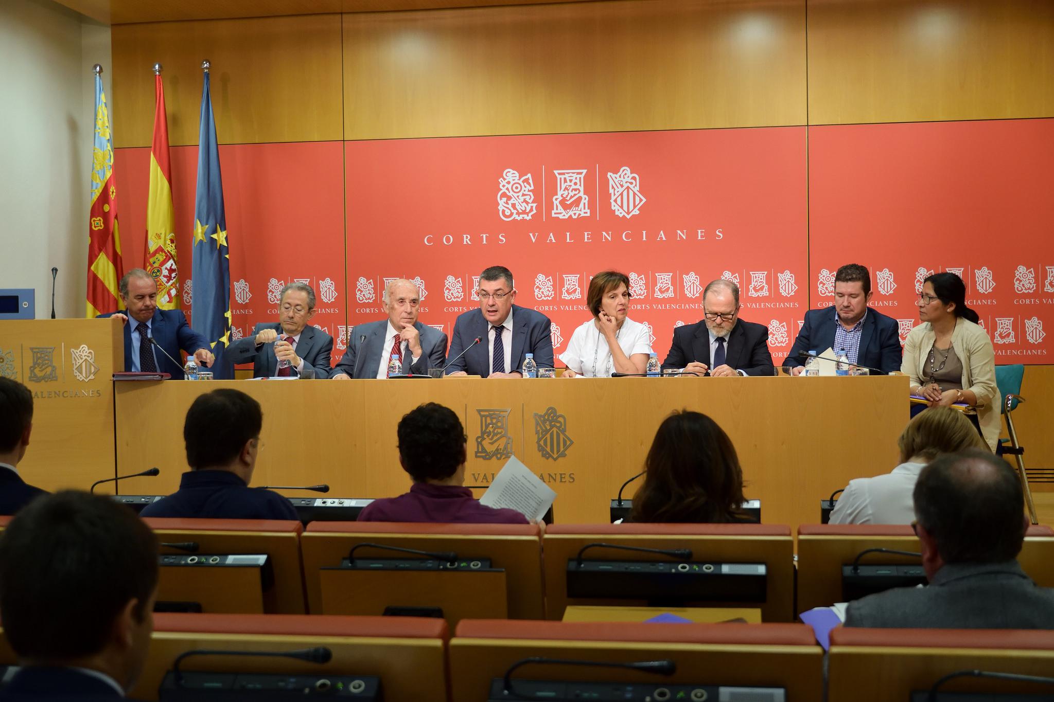 El Síndic defiende el Informe Anual 2017 ante la Comisión de Peticiones de Les Corts Valencianes