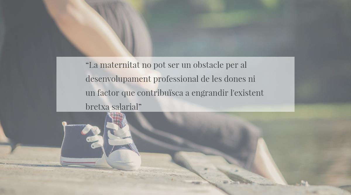 EDUCACIÓ-BAIXA LABORAL PER MATERNITAT O EMBARÀS DE RISC. El Síndic demana més protecció per a les directives de centres educatius de baixa per maternitat