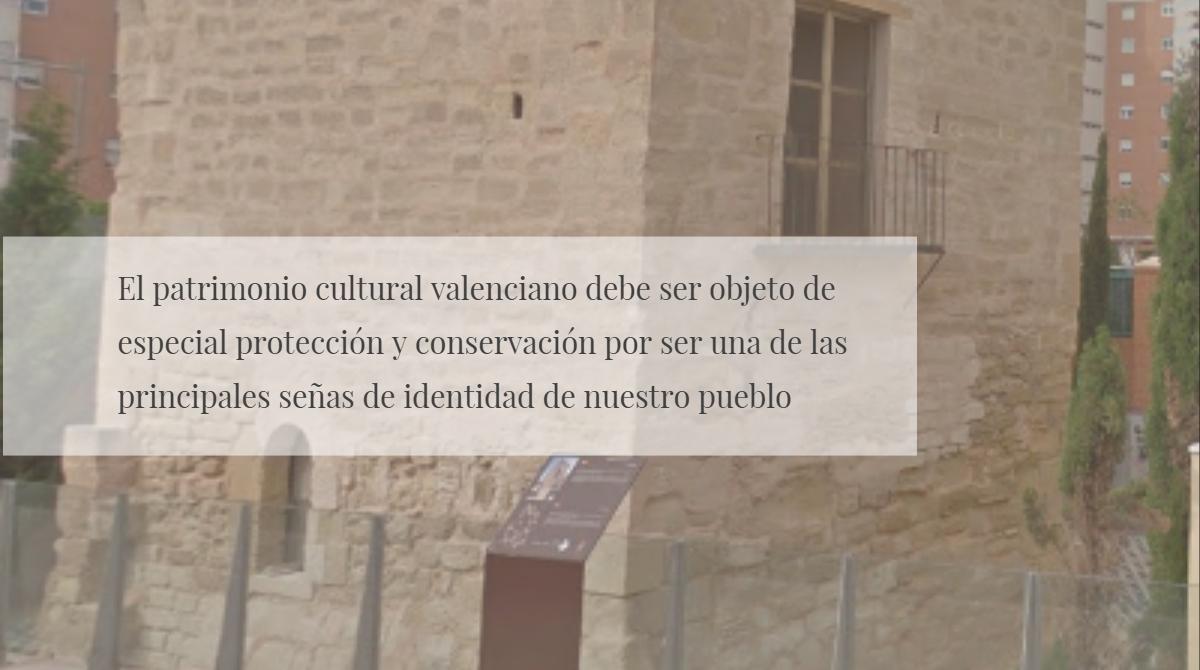 Preguntamos por las medidas de protección y conservación de la Torre Ferrer de Alicante, declarado Bien de Interés Cultural