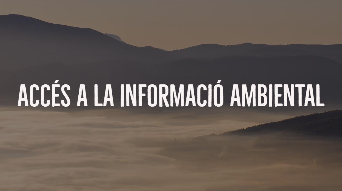 Urgim a donar informació ambiental sobre un projecte desenvolupat a l'Albufera