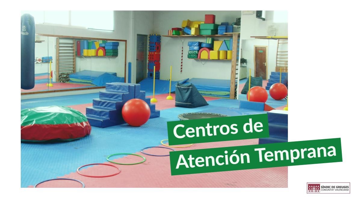 El Síndic investiga el funcionamiento de los Centros de Atención Temprana de la Comunitat Valenciana