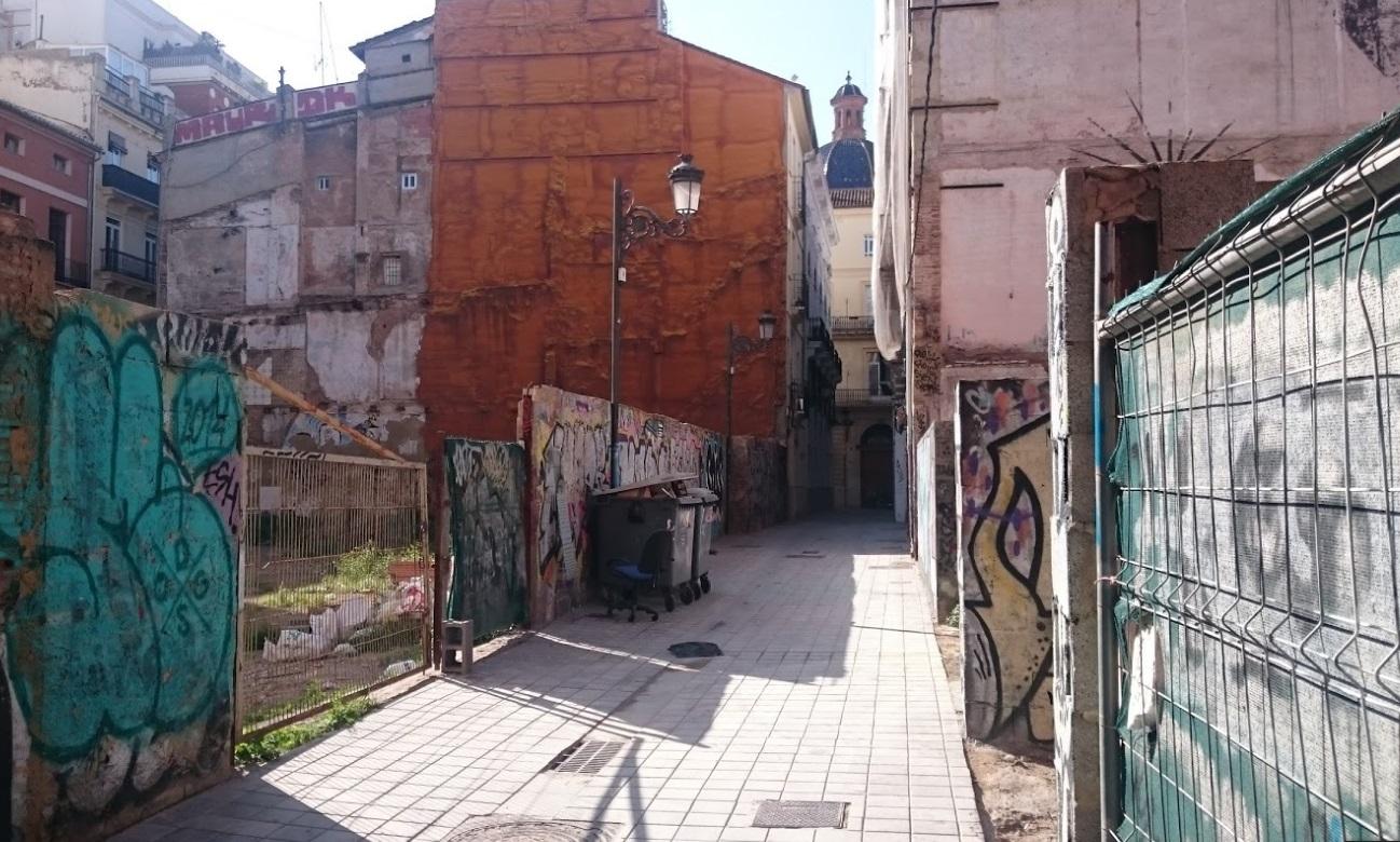L'Ajuntament de València es compromet amb el Síndic a solucionar la situació d'insalubritat al carrer la Nostra Senyora de les Neus