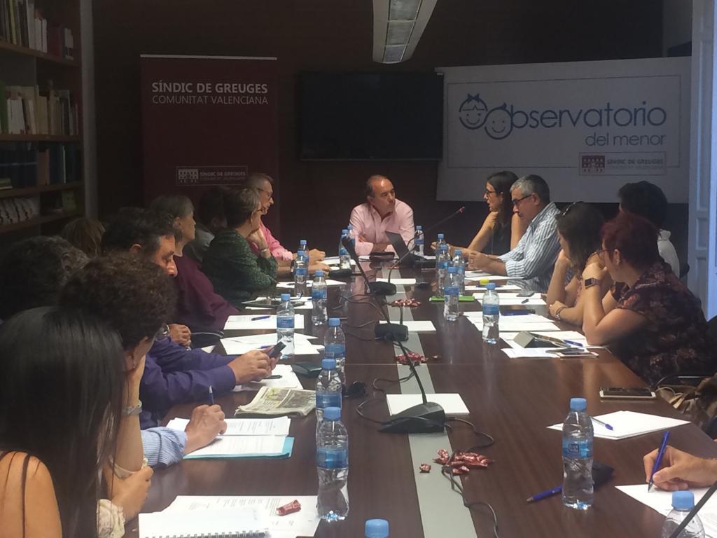 L'Observatori del Menor debat la tracta de menors a la Comunitat Valenciana
