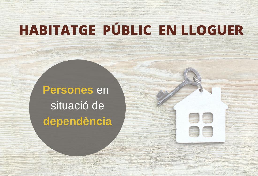 Habitatge accepta la recomanació del Síndic i permetrà a les persones majors dependents optar a un habitatge públic en lloguer