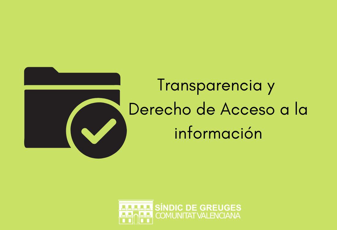 ElSíndicdefiende que la transparencia de las administraciones públicasfortalecela democracia y la confianza de la ciudadanía en sus instituciones